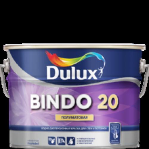 Краска Dulux Bindo 20 полуматовая база BW 1л 5309511