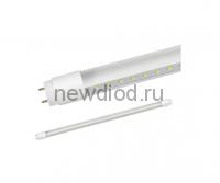 Лампа светодиодная LED-T8R-П-PRO 10Вт 230В G13R 6500К 800Лм 600мм прозрачная поворотная IN HOME