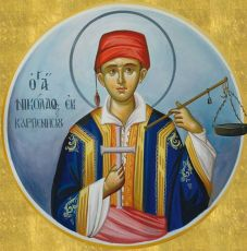Икона Николай Пантополос мученик