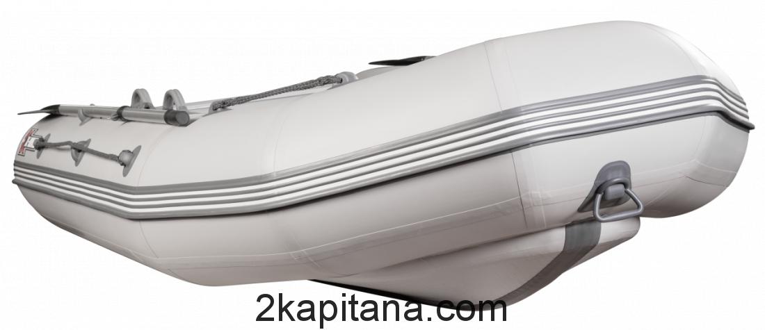Надувная лодка НДВД ROCKY 395 (дно высокого давления) GRAY или WHITE