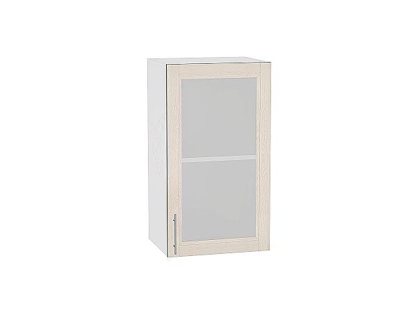 Шкаф верхний Сканди В409 со стеклом Cappuccino Softwood