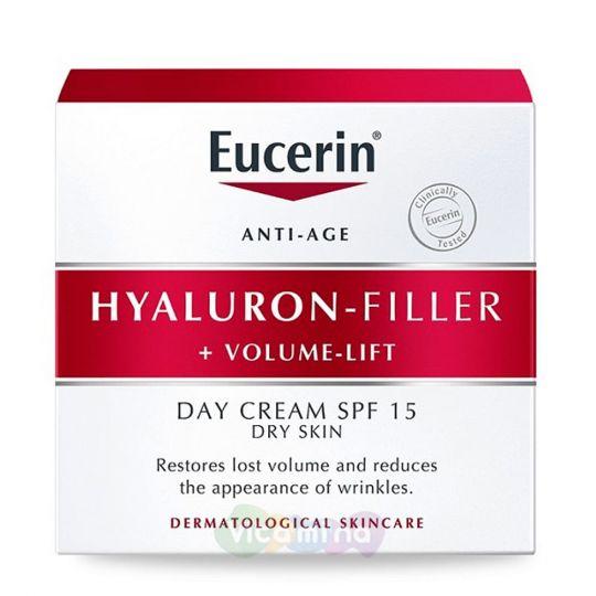Eucerin Hyaluron-filler+volume lift Крем для дневного ухода за сухой кожей, 50 мл