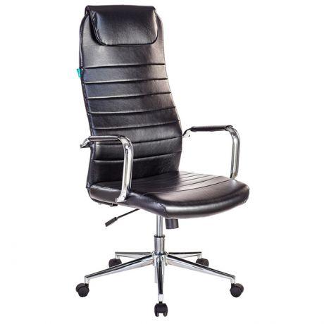 Кресло руководителя Бюрократ KB-9/Eco/KB-9N/ECO/BLACK искусственная кожа черная