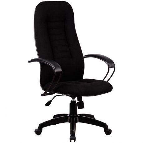 """Кресло руководителя Метта """"Business"""" BP-2 PL, ткань черная №19, механизм качания"""