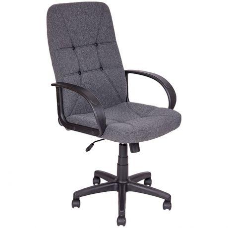 Кресло руководителя Алвест AV 114 PL (727), ткань серая, механизм качания