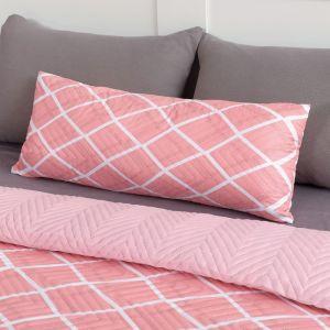 Подушка декоративная Экономь и Я «Пудра» 30?80 см, 100% полиэстер