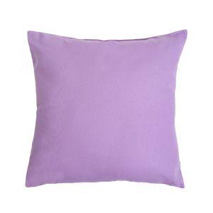 Подушка декоративная 40*40 цв. сиреневый,100% хл, поплин   2996147