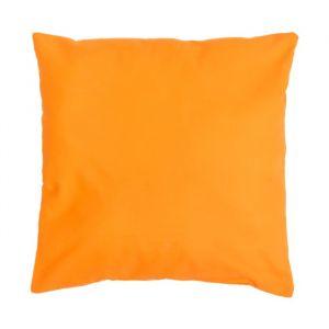 Подушка декоративная 40*40 цв. оранжевый,100% хл, поплин   2996144