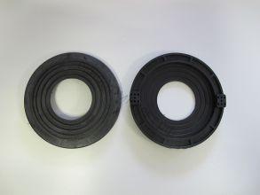 Платформа для светильников черная универсальная 60*115