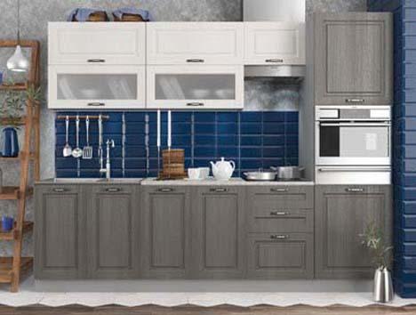 Кухонный гарнитур Капри липа 2,7м