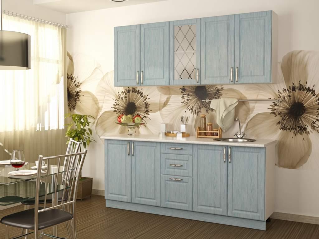 Кухонный гарнитур Парма 2,0м (белый/бриз