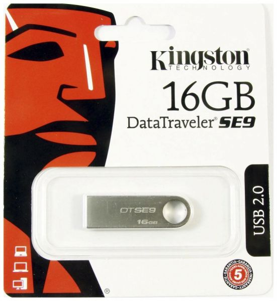 16GB USB-флэш накопитель Kingston DTSE9