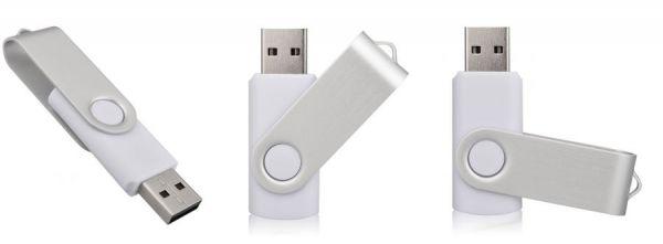 8GB USB3.0-флэш корпус для флешки Apexto U201, белый