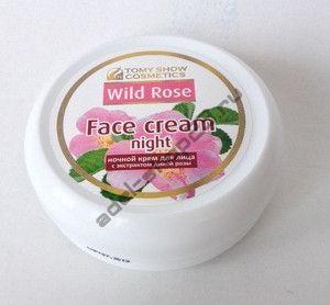 Tomy Show Cosmetics - Крем для лица ночной Face Cream Night Wild Rose, 75 мл (банка)