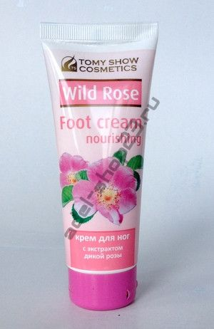 Tomy Show Cosmetics - Крем для ног Foot Cream Nourishing Wild Rose, 75 мл