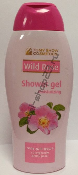 Tomy Show Cosmetics - Гель для душа Shower Gel Moisturizing Wild Rose, 250 мл.