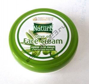 Tomy Show Cosmetics - Крем для лица дневной Face Cream Nourishing CLOSE to NATURE with Oil Olive, 75 мл (банка).