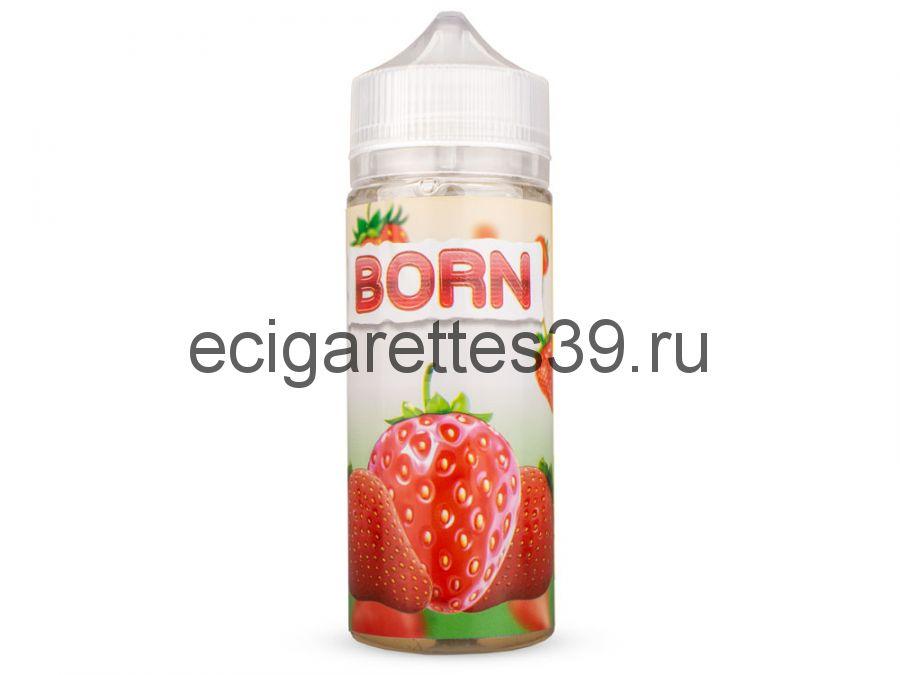 Жидкость Born Клубника , 120 мл.