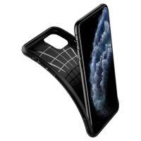 Купить оригинальный чехол Spigen Liquid Air для iPhone 11 Pro Max черный: купить недорого в Москве — выгодные цены на чехлы для айфон 11 Про Макс в интернет-магазине «Elite-Case.ru»