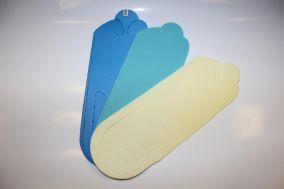 Тапочки вьетнамки, 5 мм, цветные, 25 пар