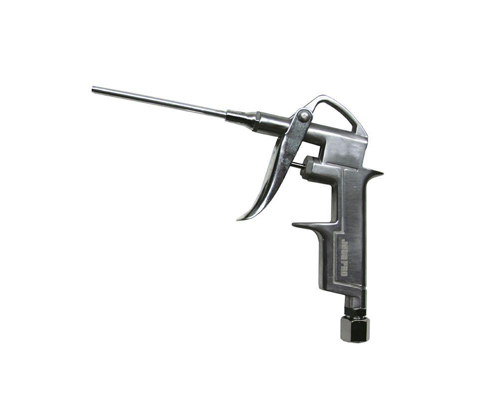 Jeta PRO JDG103 Пистолет продувочный с длинным соплом 80мм., алюминиевый корпус, рабочее давление 0-10бар, максимальное 12бар