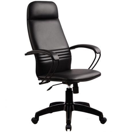 """Кресло руководителя Метта """"Business"""" BP-1 PL кожа черная """"NewLeather"""" №721, мех. качания"""