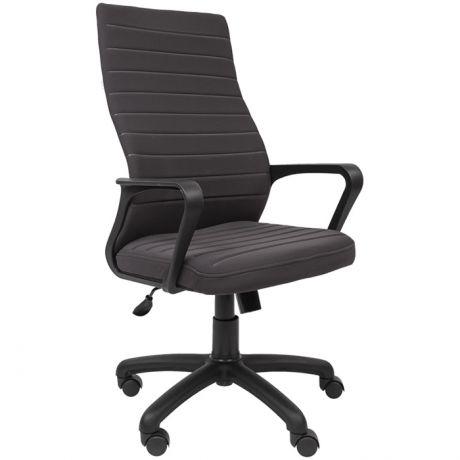 Кресло руководителя Русские кресла 165, ткань S серый, механизм качания