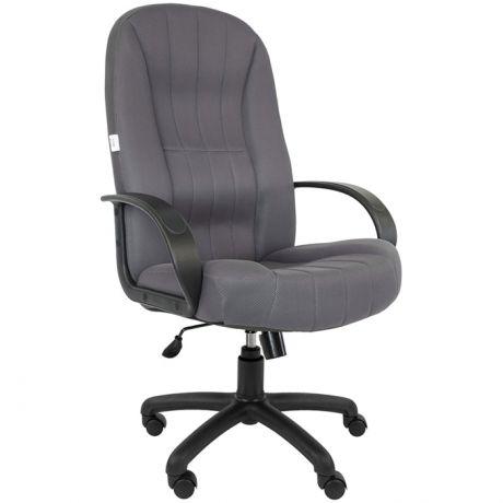 Кресло руководителя Русские кресла 185, ткань TW серая, механизм качания