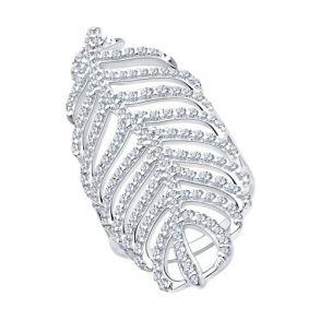 Кольцо из серебра с фианитами 94013131 SOKOLOV
