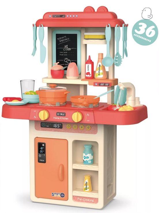 889-170 Кухня игровая детская Home Kitchen с водой, паром, светом и звуком
