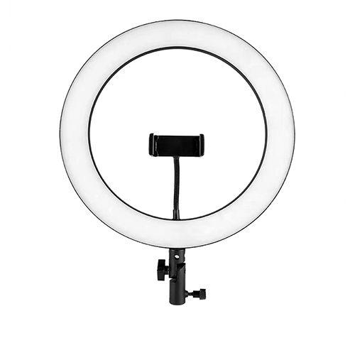 Кольцевая лампа 26 см СТ-002 со штативом