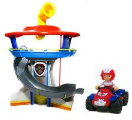 Игровой набор База Спасателей серия и Райдер на квадроцикле (Щенячий патруль)