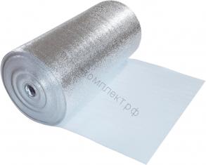 Изодом НПЭ ПЛ 10 мм фольгированный (1м*30)
