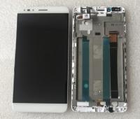 LCD (Дисплей) Alcatel 7070X Pop 4 (в сборе с тачскрином) (в раме) (white) Оригинал