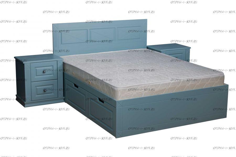 Кровать Азур, МДФ