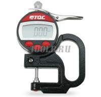 TQC Sheen SP1570 - цифровой толщиномер (на ленте TESTEX)