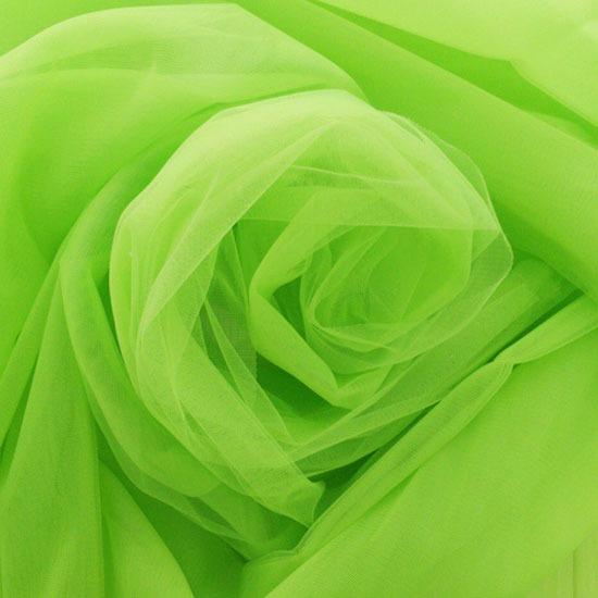Мягкий фатин (еврофатин) 300*25 - Зелёный неон
