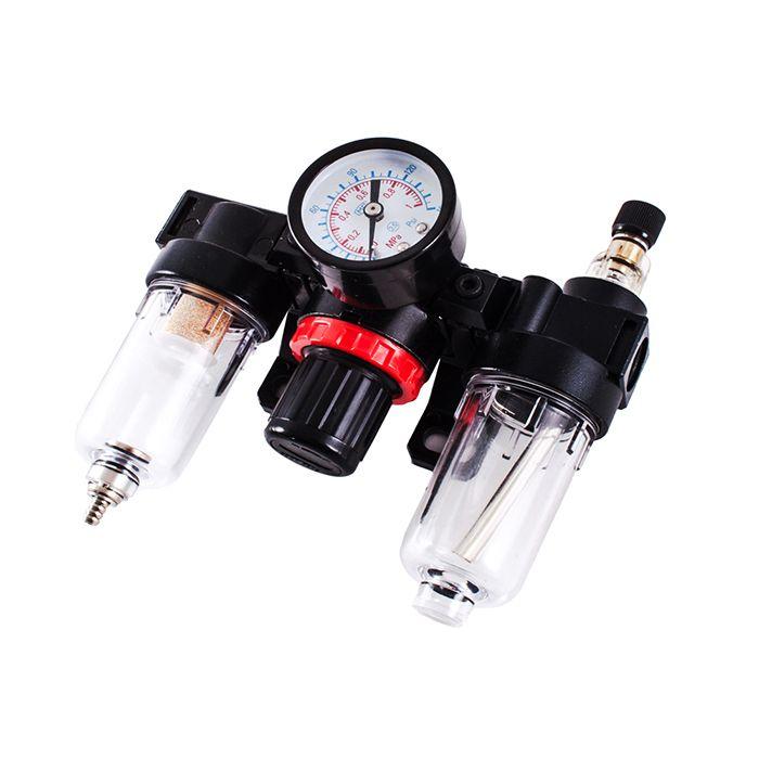 """Jeta JFC20 Модуль: фильтр конденсата - регулятор с манометром - лубрикатор, максимальное давление 10 бар, 1/4"""""""