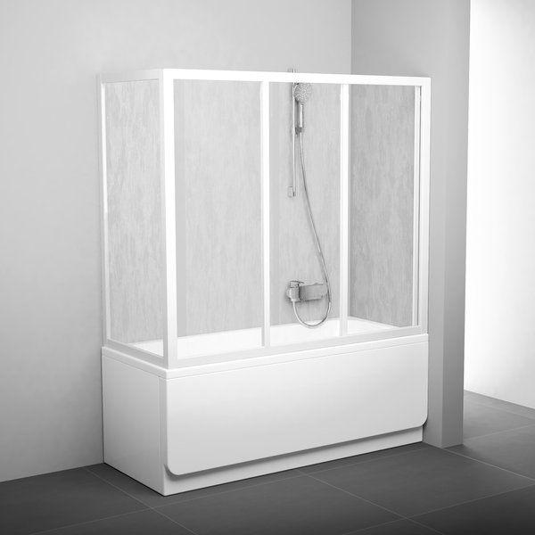 Ravak AVDP3 + APSV Г-образная шторка на ванну ФОТО