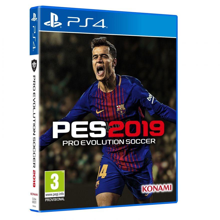 Игра PES 2019 (PS4)