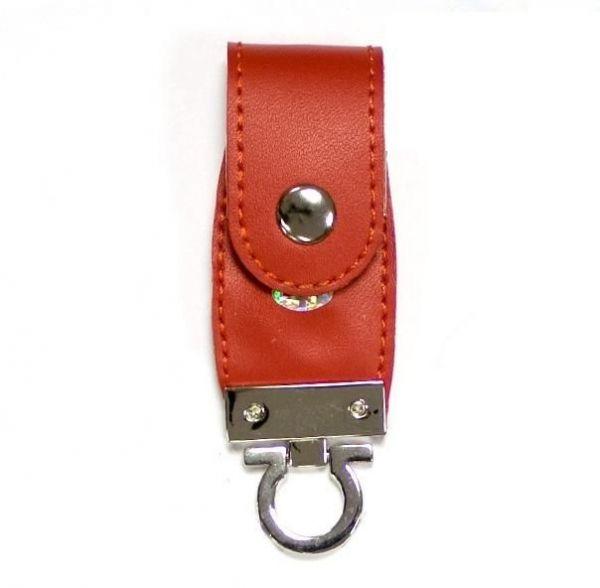 2GB USB-флэш накопитель Apexto U503C гладкая красная кожа OEM