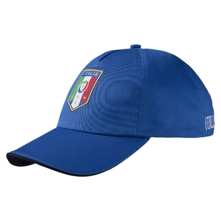 Бейсболка puma italia team training cap team power blue (ss17) 02101702