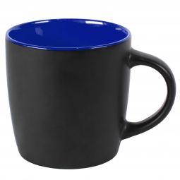 кружка intro черная с синим
