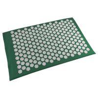 Акупунктурный массажный коврик Acupressure Mat (цвет зелёный)