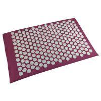 Акупунктурный массажный коврик Acupressure Mat (цвет фуксия)