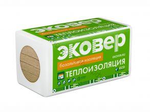 Мин.плита Эковер ЭКОФАСАД 50*600*1000/8 пл. (110 кг/м3) 1уп=0,48м3, 4,8м2