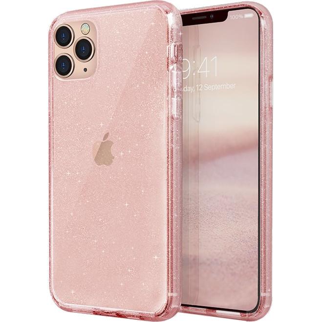 Чехол Uniq LifePro Tinsel для iPhone 11 Pro Max розовый