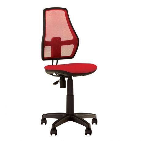 Кресло детское NowyStyl FOX, PL, ткань/спинка-сетка, без подлокотников