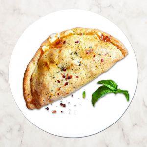 Пицца Кальцоне с лососем терияки 600г
