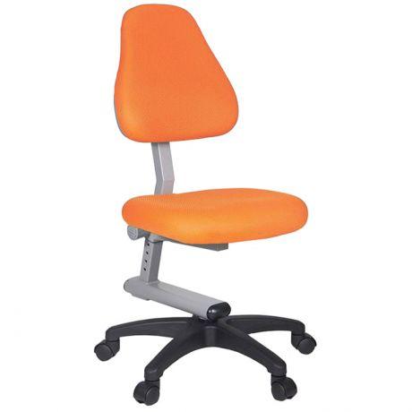 Кресло детское Бюрократ KD-8/TW-96-1 оранжевый, без подлокотников